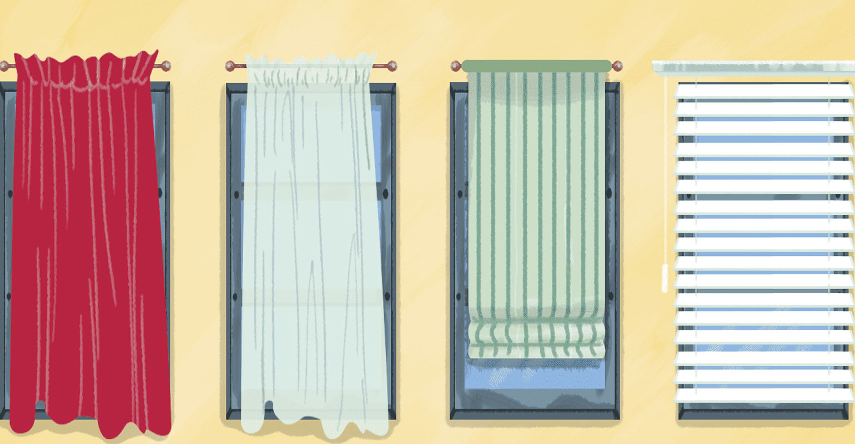 Xu hướng lựa chọn rèm cửa phòng khách 2021/ Rèm mành